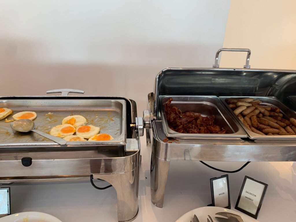 Hilton Sorrento Palace Frühstück Eier