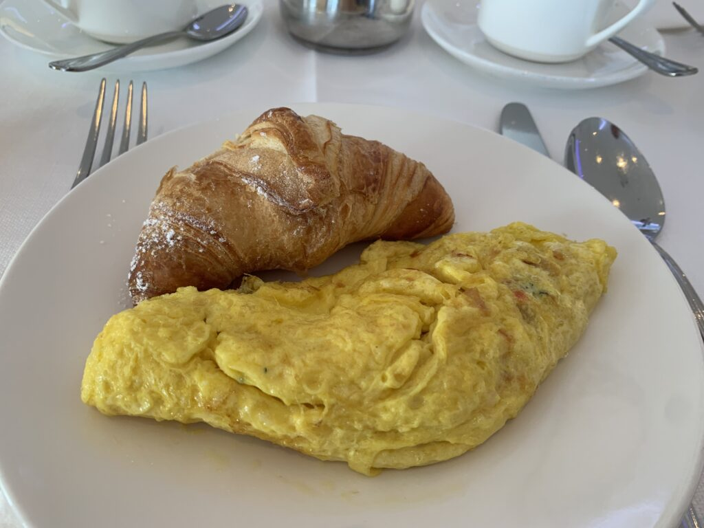 Hilton Sorrento Palace Frühstück Mein Teller