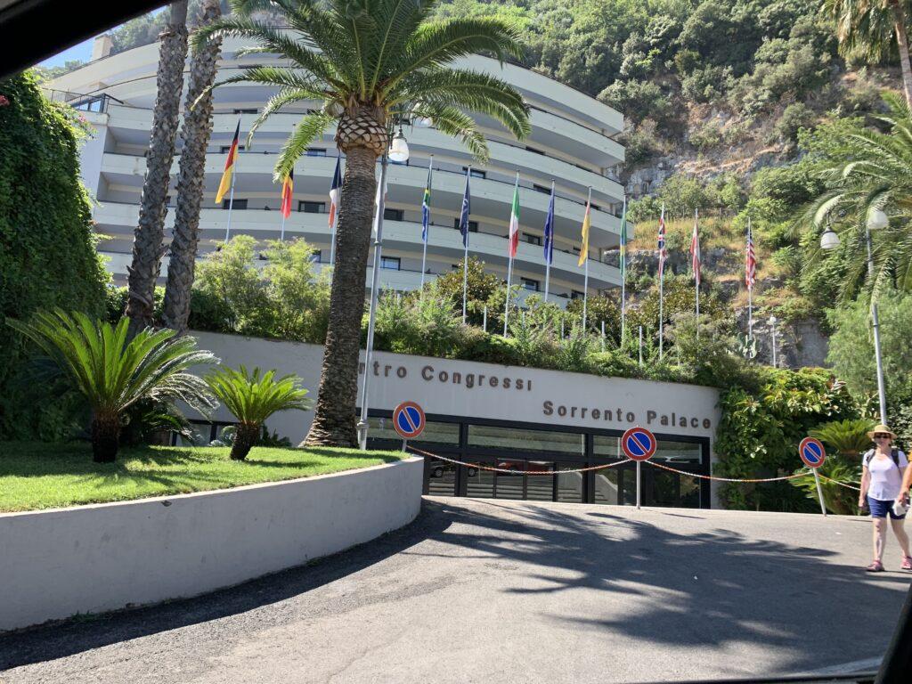 Hilton Sorrento Palace Kongressansicht