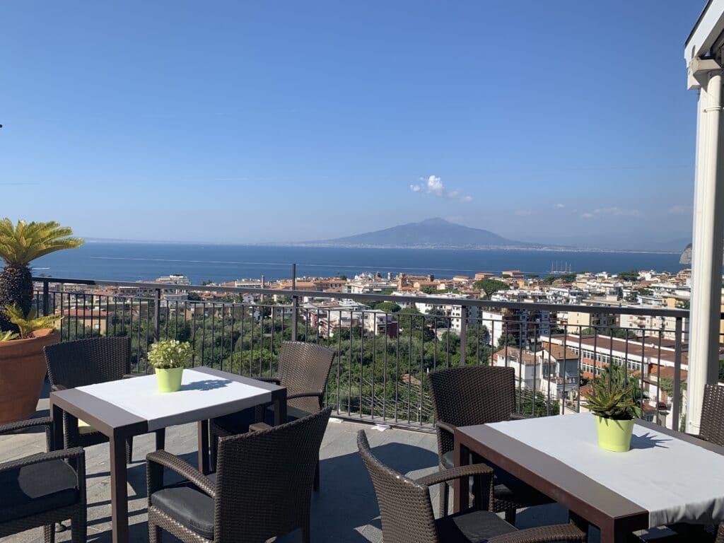 Hilton Sorrento Palace Lounge Aussicht