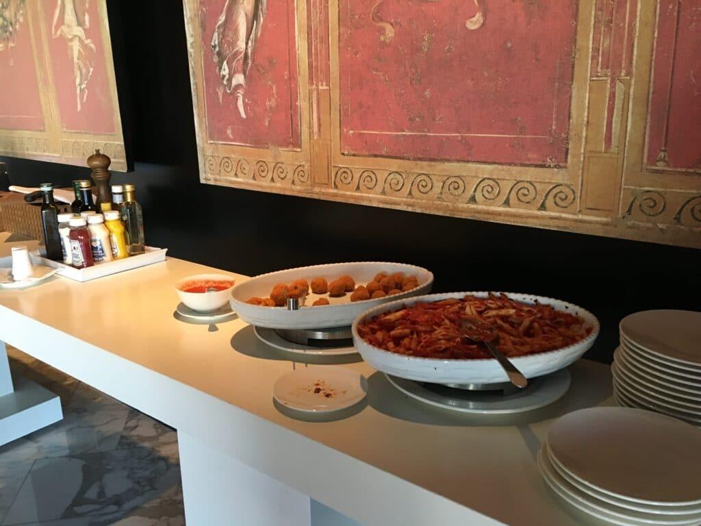 Hilton Sorrento Palace Lounge Buffet