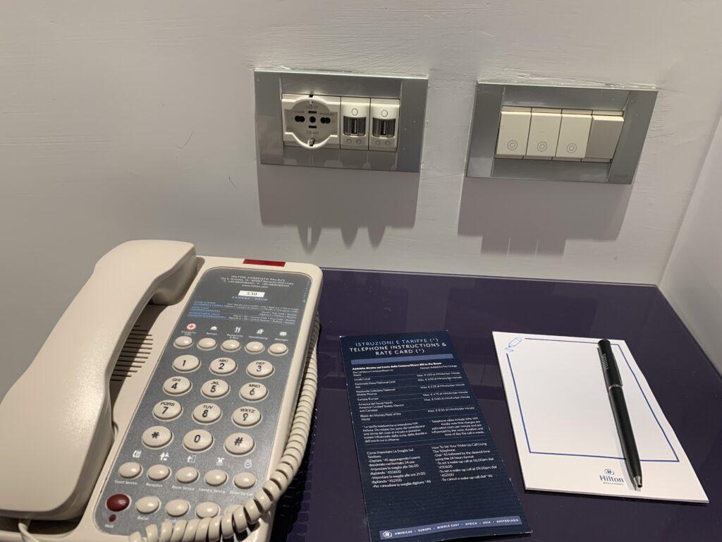 Hilton Sorrento Palace Telefon