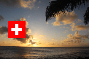 Linda Hawaii Strand Sonne Wochenrückblick Plmen Flagge Schweiz