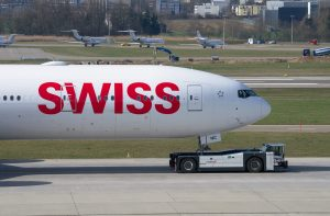 Swiss Pushback Swissport