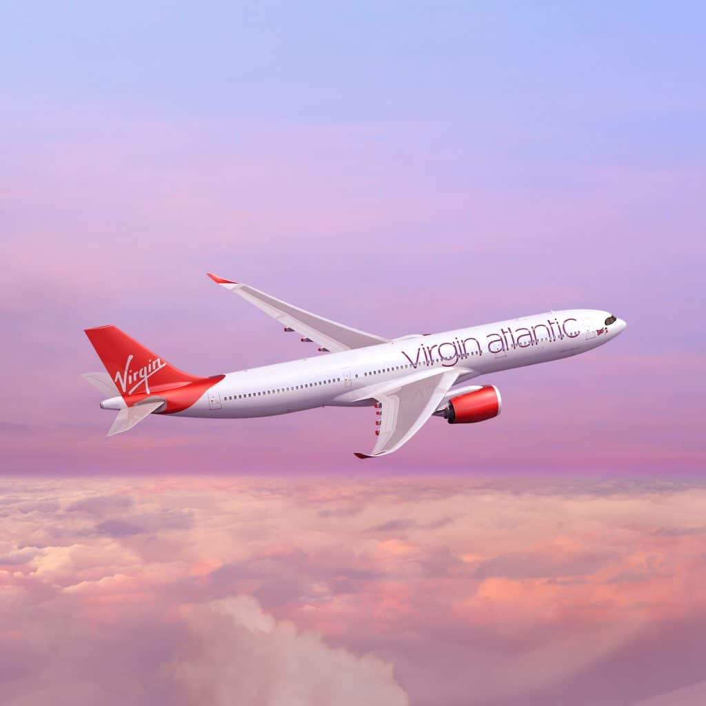 Virgin Atlantic A330neo Rendering