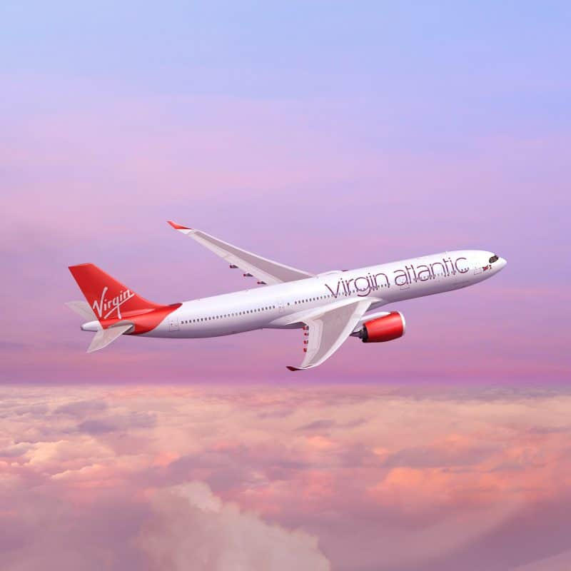 Virgin Atlantic A330neo Rendering