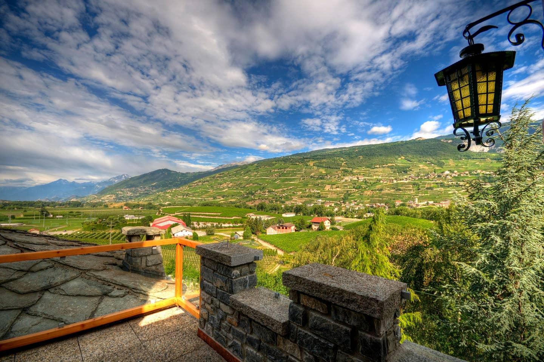 Wallis Landschaft Airbnb