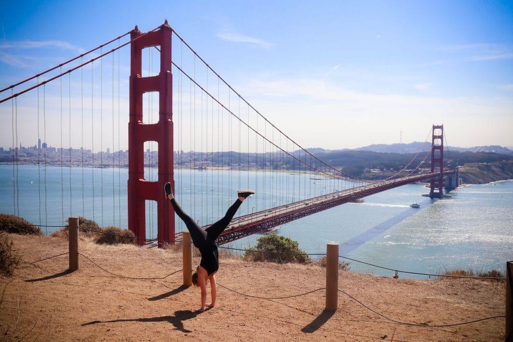 Linda San Francisco Golde Gate Bridge