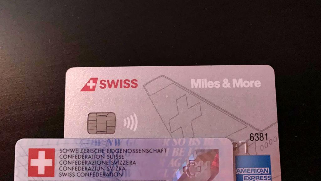 Mirco Swiss Duo Classic American Express Miles And More Kreditkarte Zugeschnitten
