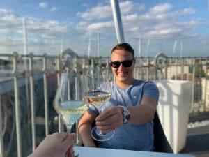 Yannick Wochenrückblick Budapest Wein