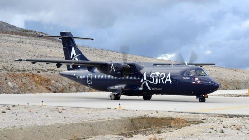 Astra Airlines Fotoquelle Airline Website
