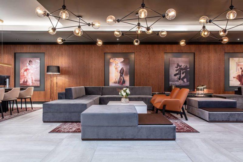 Radisson Blu Hotel Basel Lobby