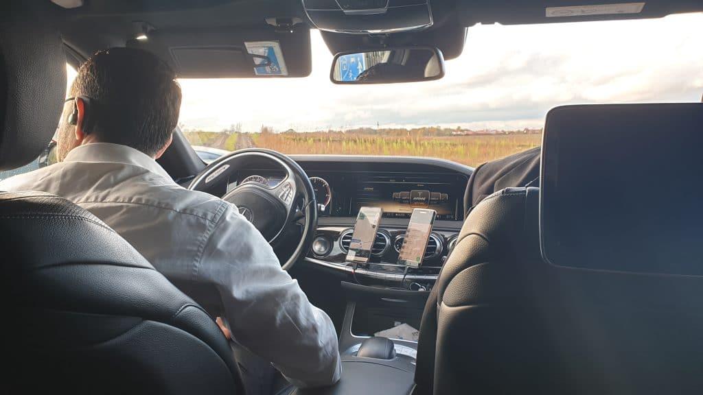 Sixt Ride Limoservice S Klasse Lang München Mercedes Benz Limousine Fahrer