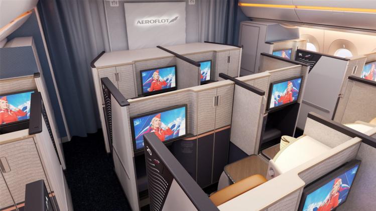 Aeroflot A350 Neue Business Class