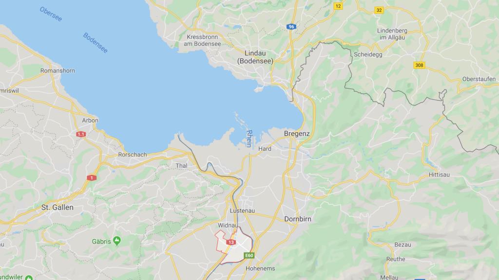 Hohemems Diepoldsau Google Maps Maut Österreich