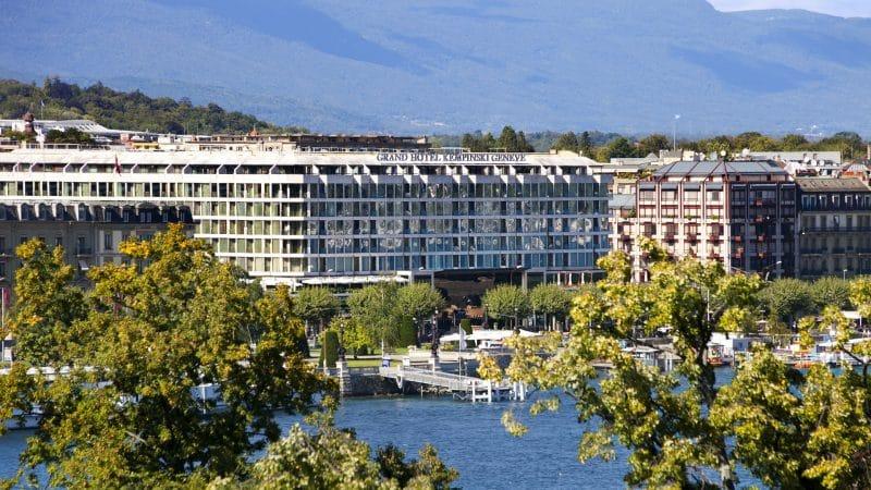 Kempinski Geneva Genf Geneve