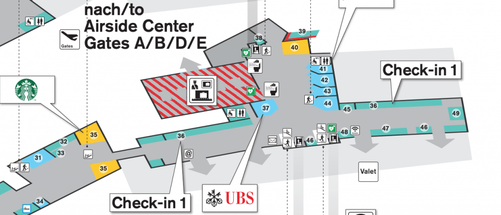 Lageplan Zürich Edelweiss Café