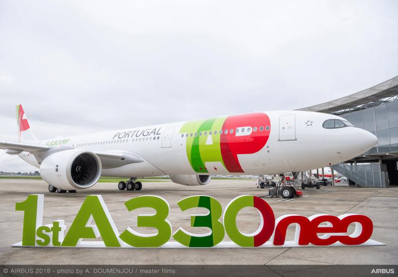 TAP A330neo Exterieur Airbus Bild