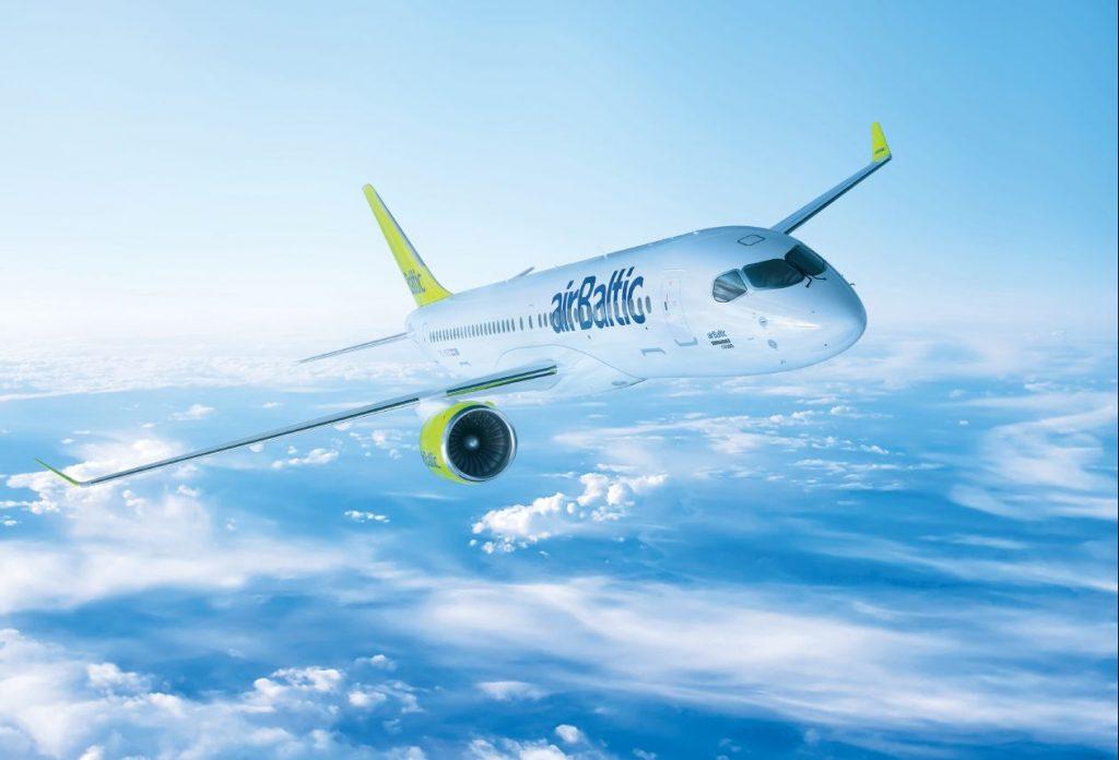 Air Baltic Airbus A220 Bombardier Cs300 1