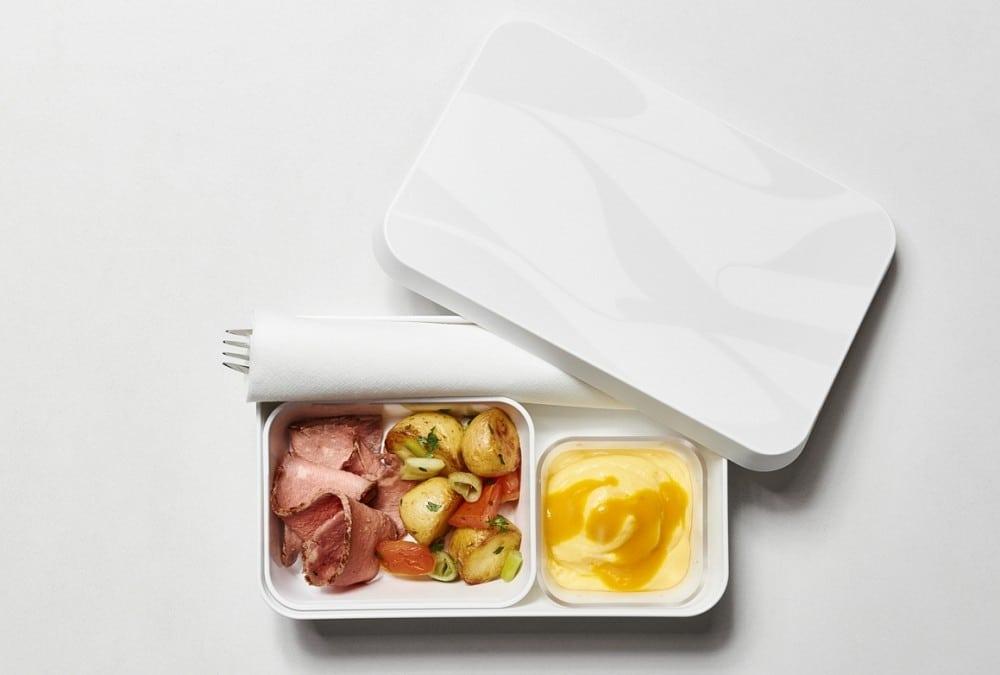 Edelweiss Box Mit Reichhaltigem Salat