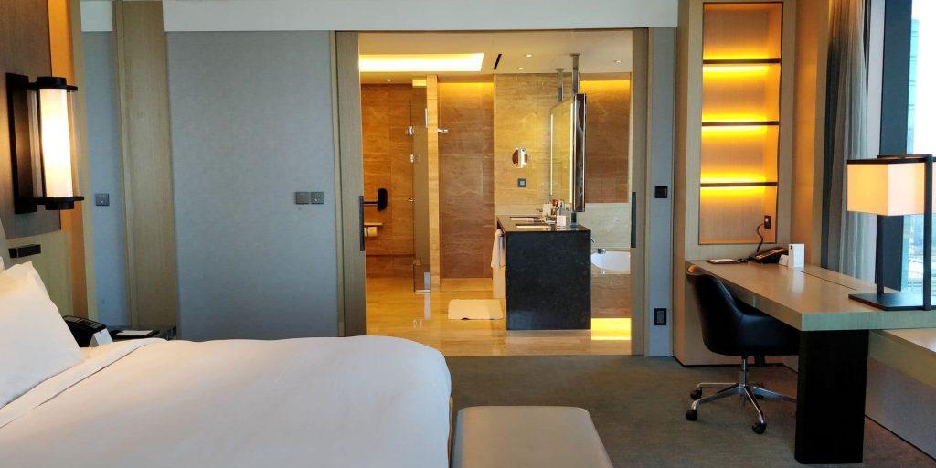 Conrad Seoul Suite Schlafzimmer