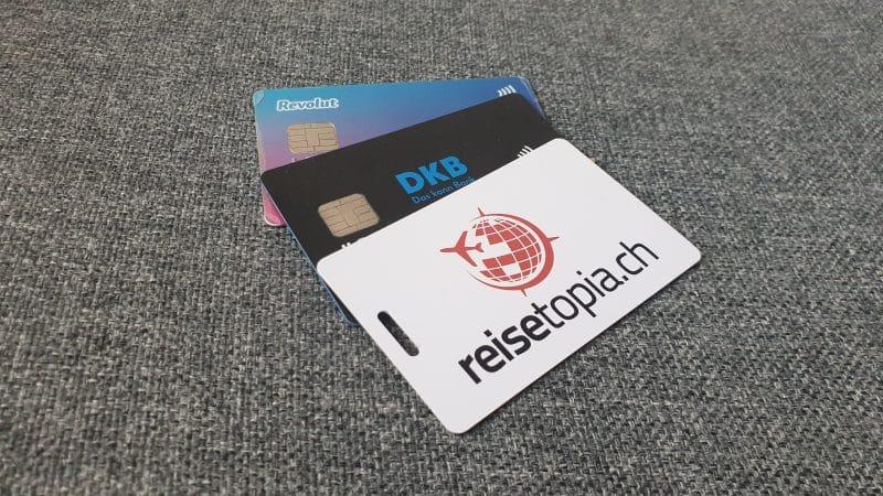 Kostenlose Kreditkarten Reisetopia Schweiz DKB Revolut