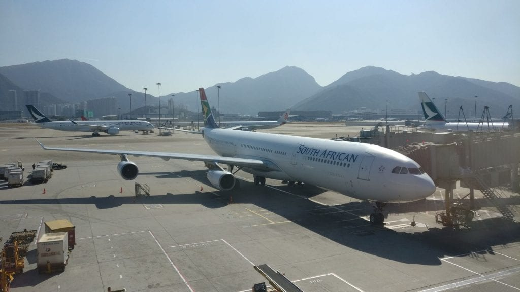 South African Airways Airbus A340