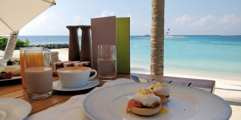 Waldorf Astoria Maldives Frühstück