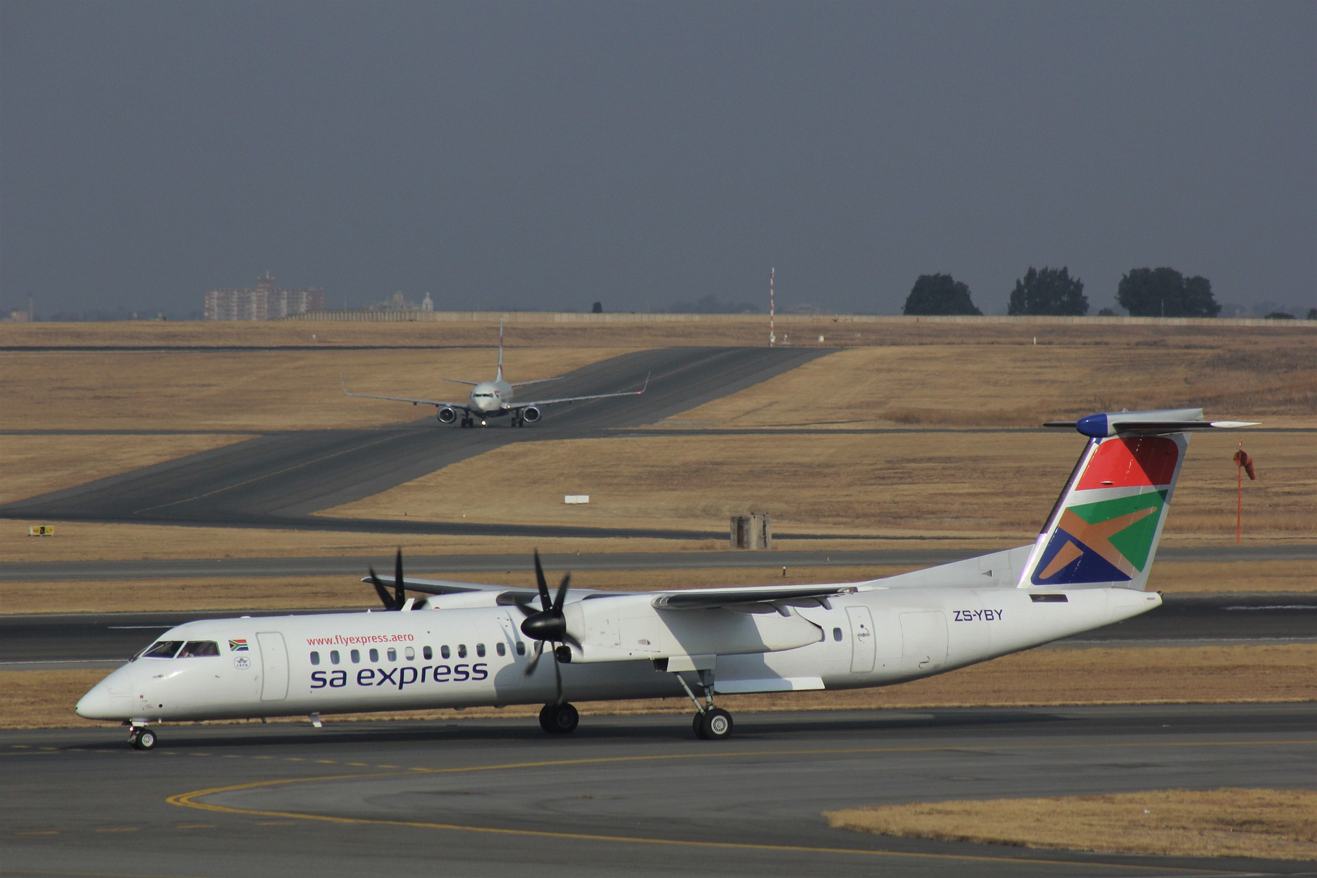 Flughafen Afrika South African Airways Express SAA Dash 8