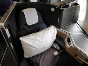 British Airways Club Suite Business Class