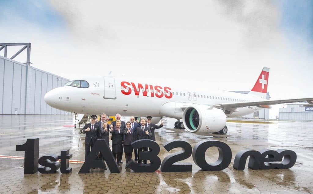 Swiss International Air Lines A320neo Group