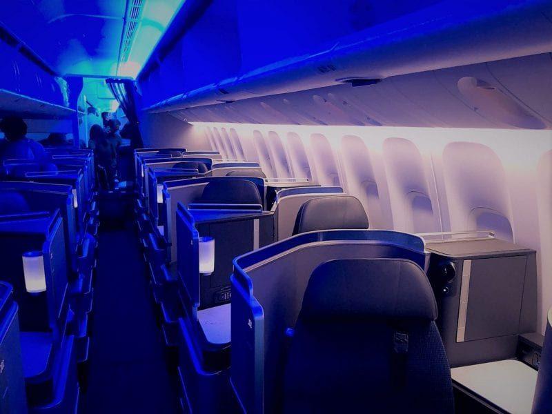 United Polaris Business Class Boeing 767 Kabine Sitze 800x600