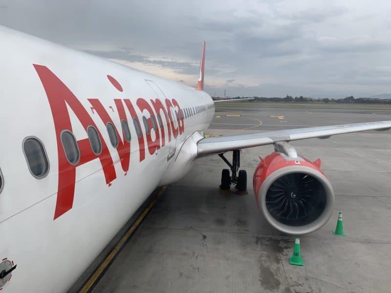 Avianca Economy Class Kurzstrecke A321 Neo 800x600