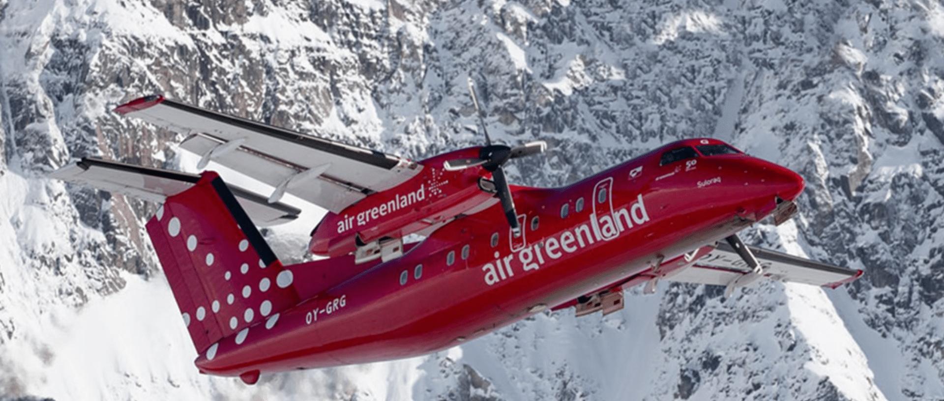Resultado de imagen para Air Greenland Dash 8-200 inflight