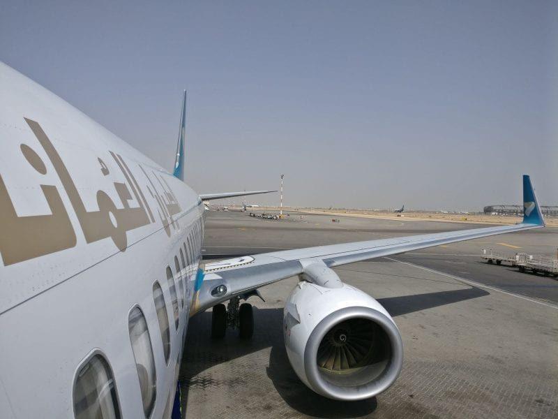 Oman Air Boeing 737 2 800x600