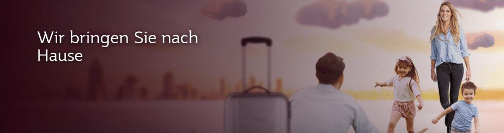 Qatar Airways Webseite Banner