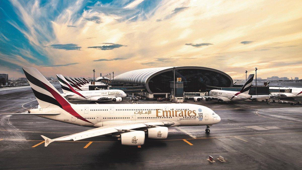 Emirates Twitter Ankündigung