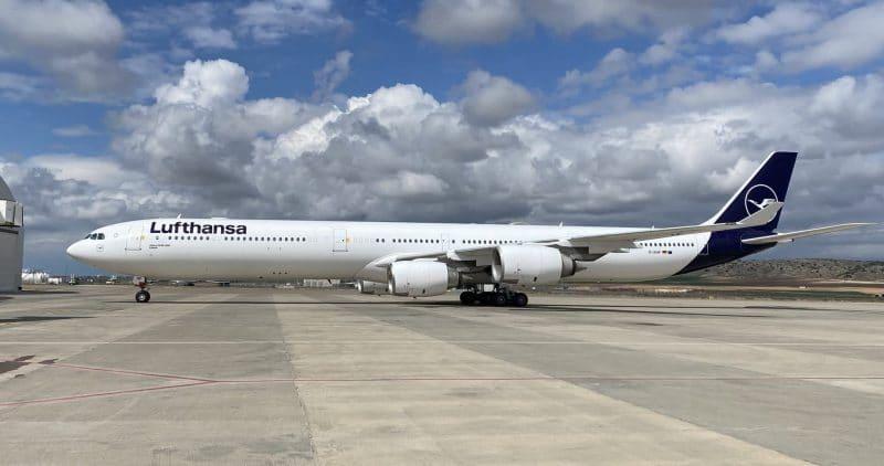 Lufthansa Airbus A340 600