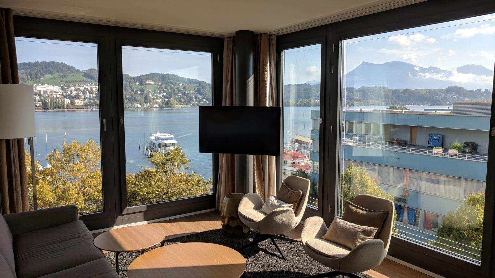 Radisson Blu Luzern Wohnzimmer 1600x900