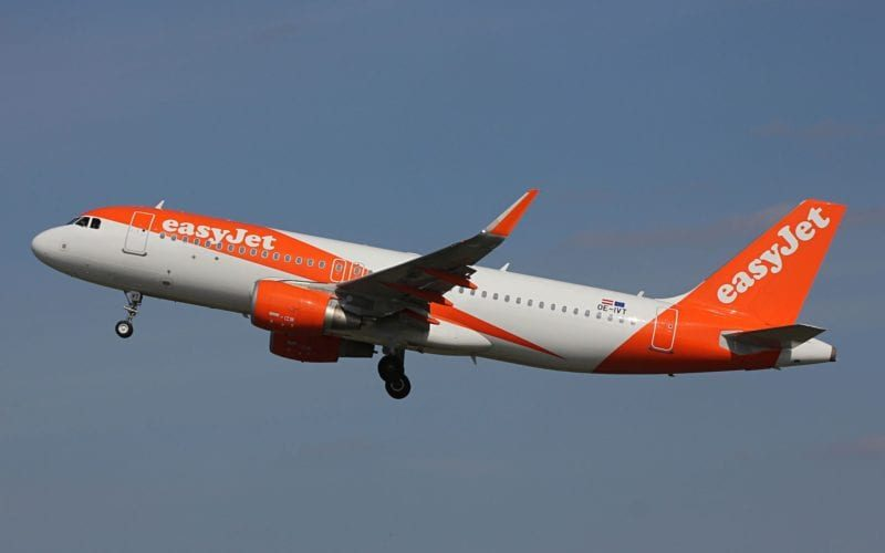 Easyjet Airbus A319 800x500