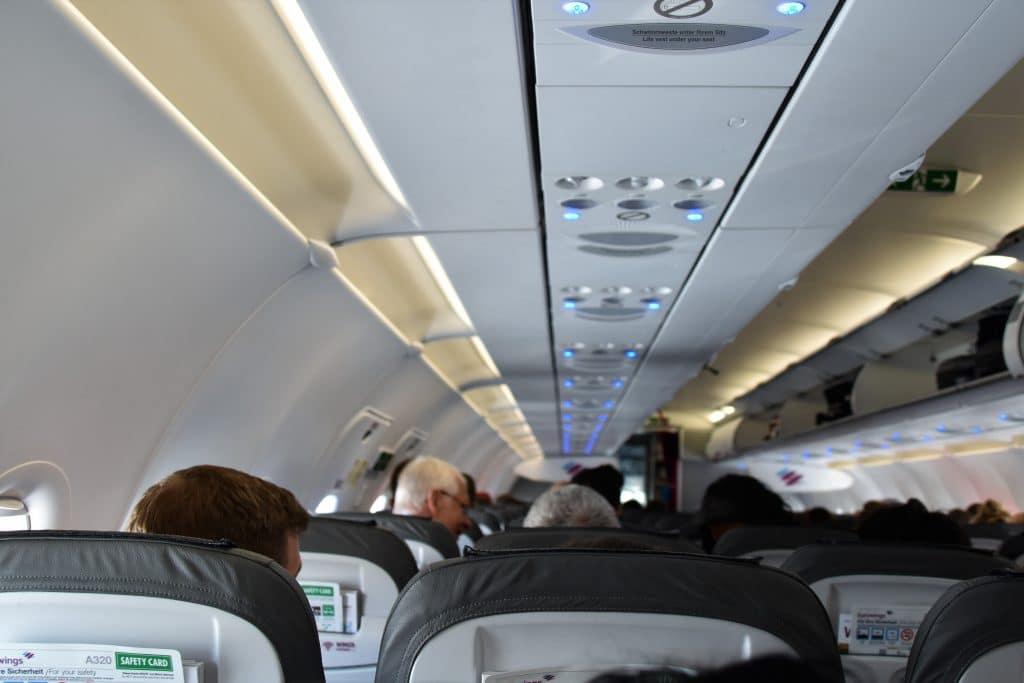 Flugzeug Kabine Belüftung 1024x683