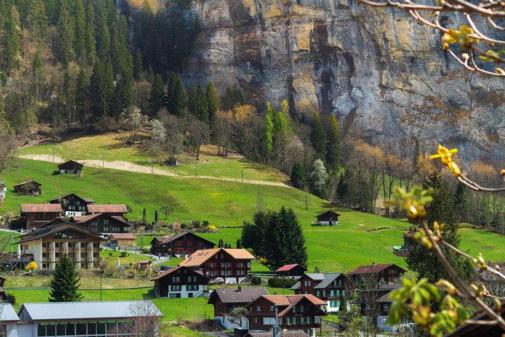 Aussicht Schweiz