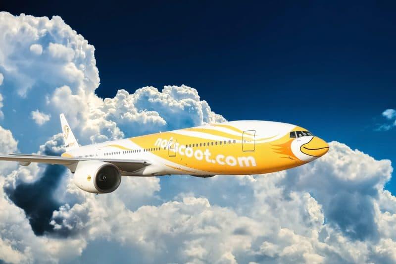 12. NokScoot Boeing 777 200