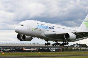 Airbus A380 Umwelt