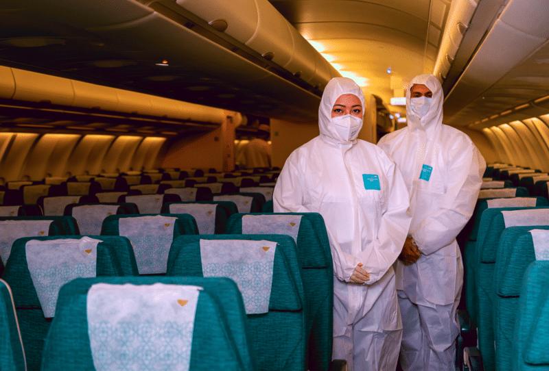 Oman Air Uniformen