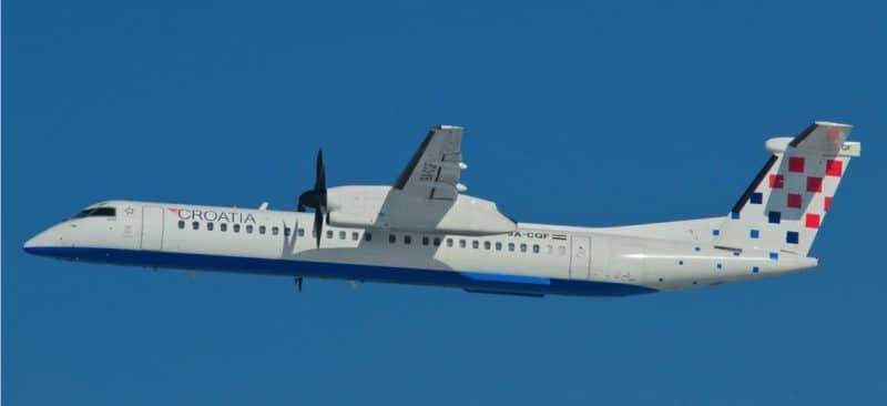 Croatia Airlines Dash 8