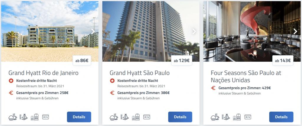 Hyatt Prive Promo Brasilien