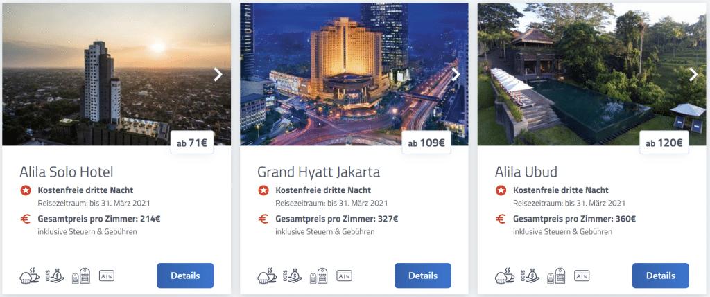 Hyatt Prive Promo Indonesien