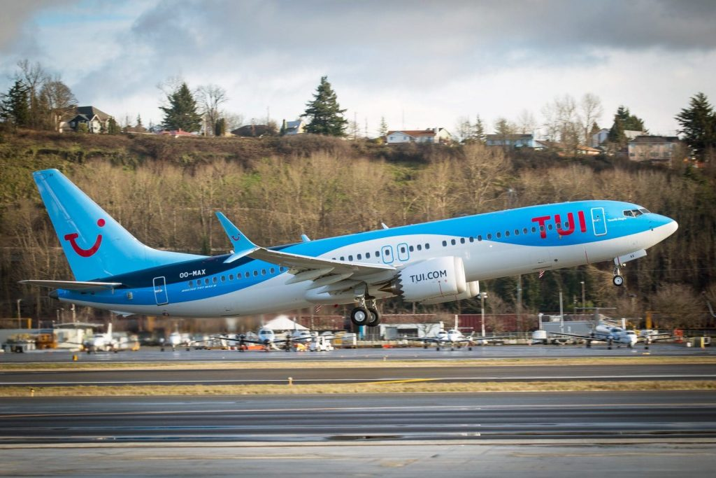 TUIfly Boeing 737 MAX 8