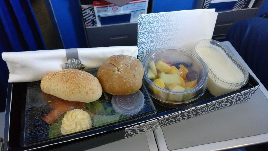 KLM Business Class Catering 1024x576